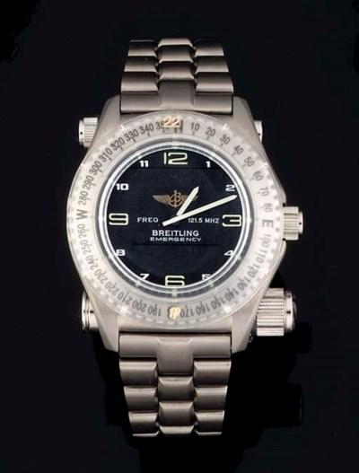 Breitling. A Titanium Multi-Fu