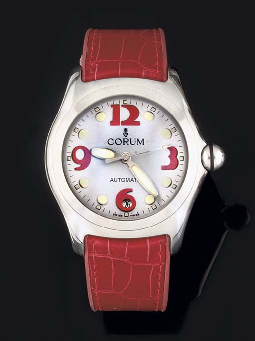 Corum. A Stainless Steel Water