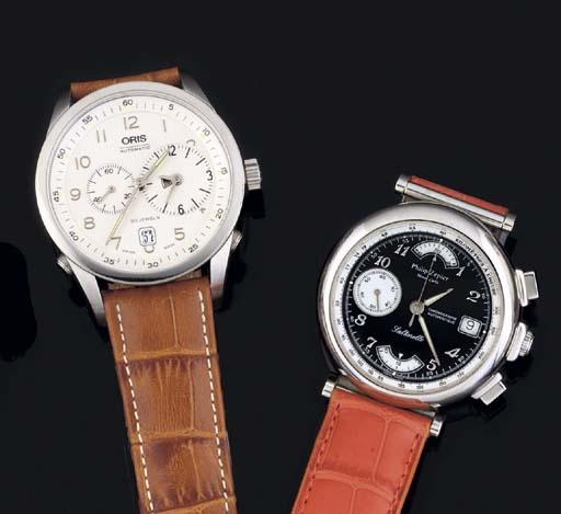 Two Stainless Steel Automatic