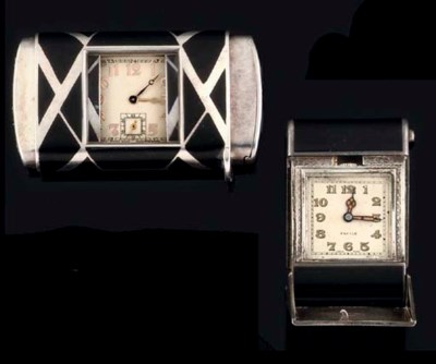 A Group of Four Bag Watches
