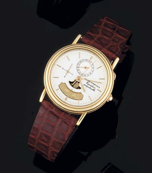 Girard-Perregaux. An 18ct Gold