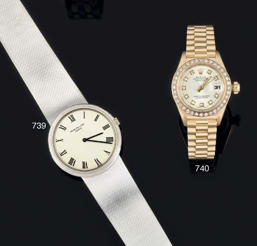 Rolex. A Lady's 18ct Gold and