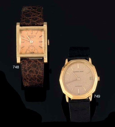 Patek Philippe. An 18ct Gold S