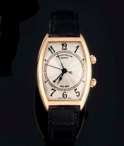 Franck Muller. An 18ct Gold To
