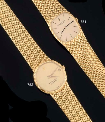 Audemars Piguet. An 18ct Gold