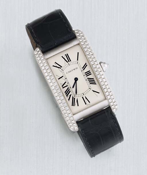 Cartier. An 18ct White Gold an