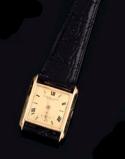 Audemar Piguet. An 18ct Gold S