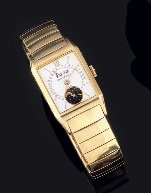 Jaeger LECoultre. An 18ct Gold