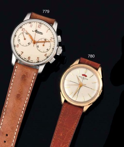 Two Stainless Steel Wristwatch