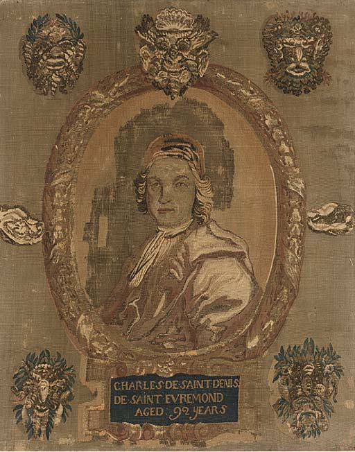 AN ENGLISH PORTRAIT TAPESTRY P