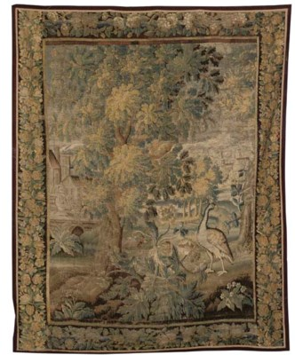 A BRUSSELS TAPESTRY, 17TH CENT