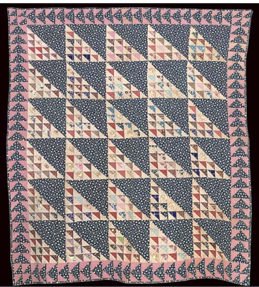 A PATCHWORK QUILT FROM NEW YOR