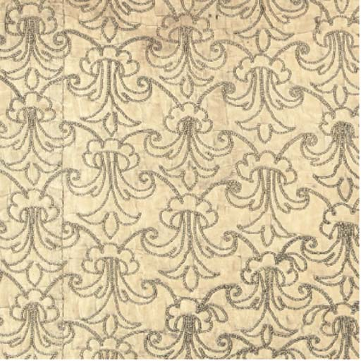 A CHRISTENING COVERLET, 17TH C