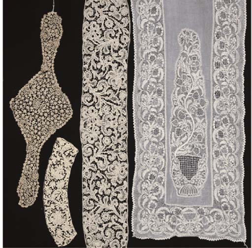 A SMALL COLLECTION OF LACE INC
