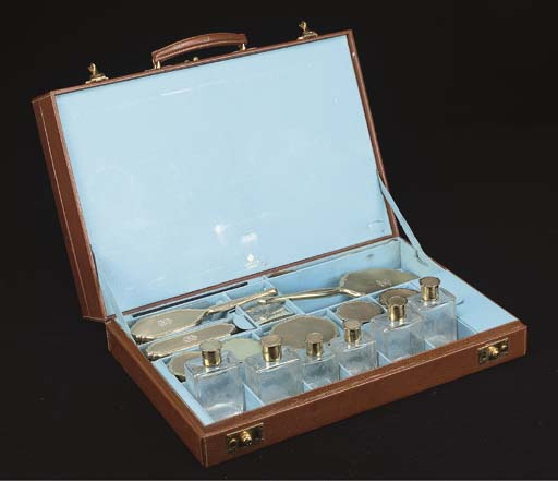 A LADY'S DRESSING CASE BY ASPR