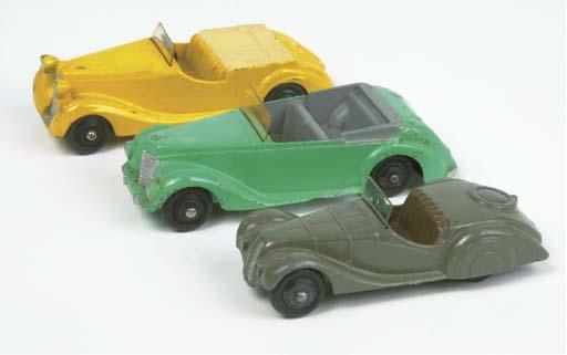 Post-war Dinky 38 Series Sport