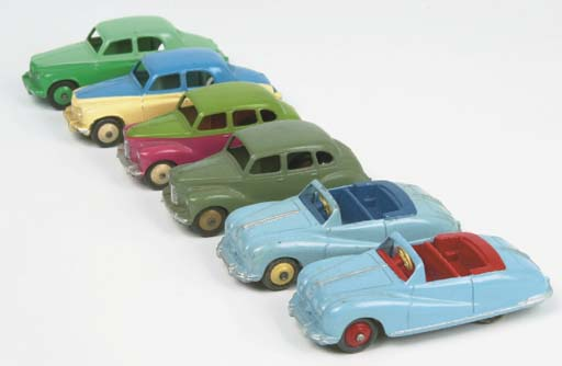 Dinky 1950s British Cars