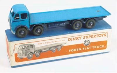A Dinky light blue 1st type 50