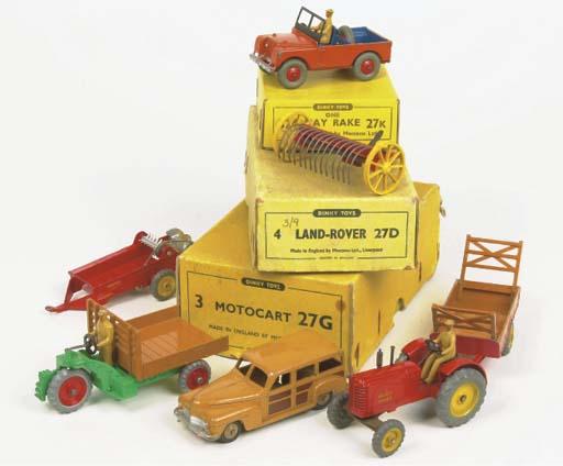 Dinky 27 Series Farm Equipment