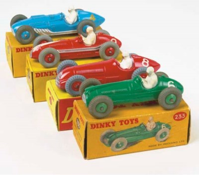 Dinky 200 Series Racing Cars