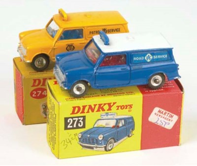 Dinky Road Service Mini Vans
