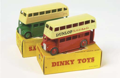 Dinky Double Deck Buses