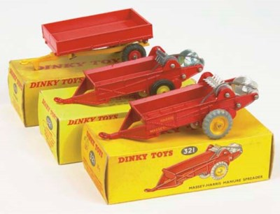 Dinky Farm Implements