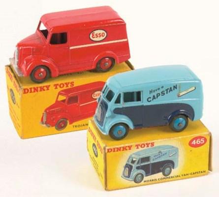 Dinky Delivery Vans