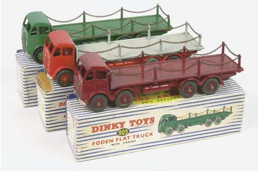 Dinky 905 2nd type Foden Flat