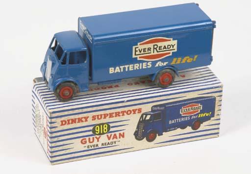 A Dinky 918 Guy Ever Ready Van