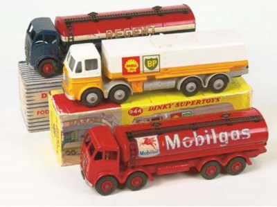 Dinky Supertoy Tankers
