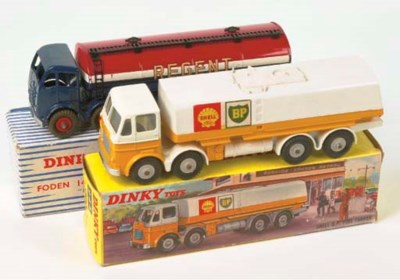 Dinky Tankers