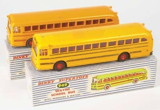 Dinky yellow 949 Wayne School