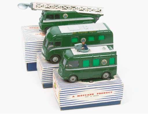 Dinky BBC TV Vehicles