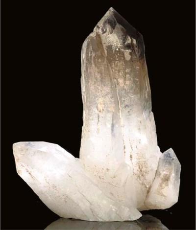 An attractive smokey quartz po