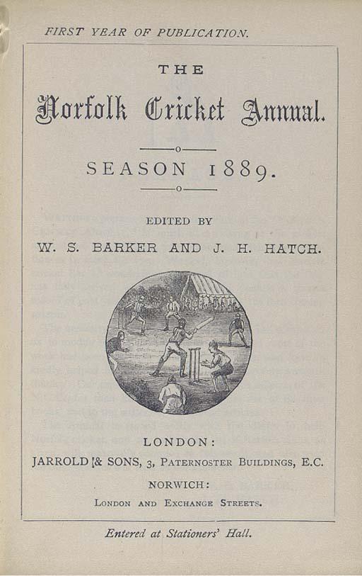 W.S. BARKER, J.H. HATCH, F.W.