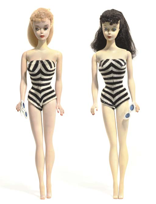 Two No.3 Barbies