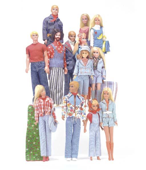 Barbie, Ken, Skipper and Scoot