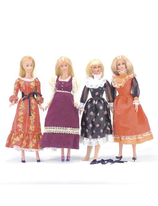Live Action Barbie in orange v