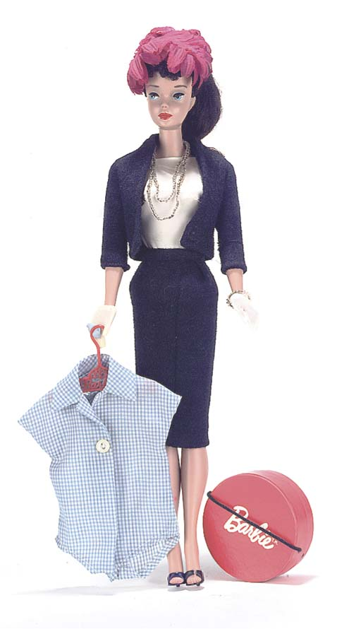 No.4 Barbie in 'Commuter Set'