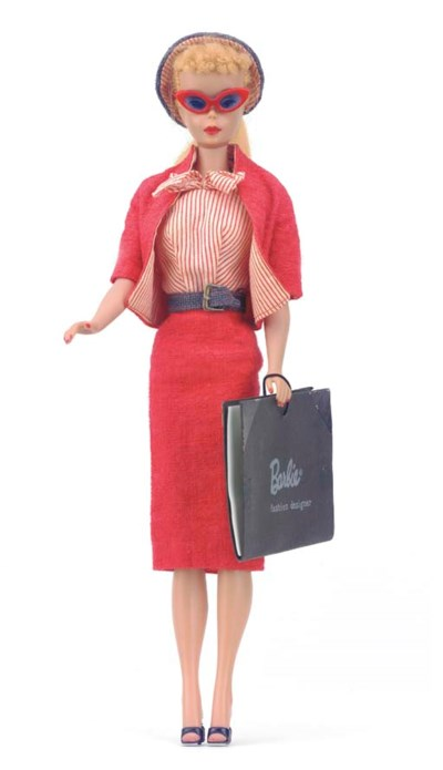 No.4 Barbie in 'Busy Gal' No.