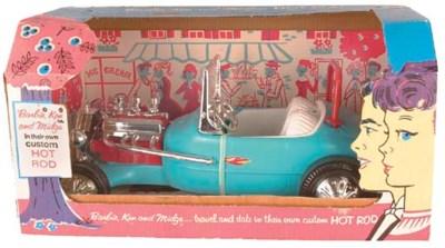 Barbie, Ken and Midge Hot Rod