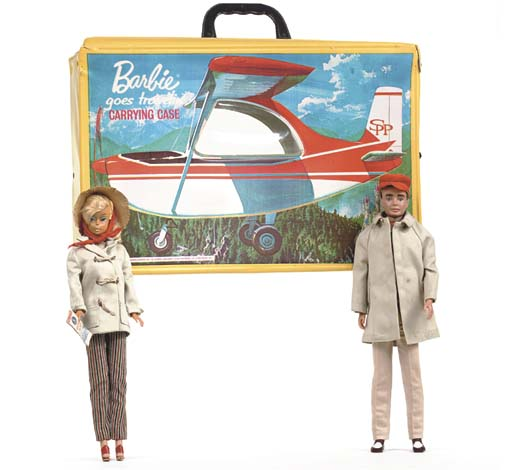 'Barbie goes travelin'' Carryi