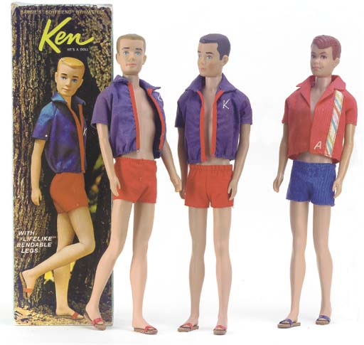 Ken with bendable legs No.1020