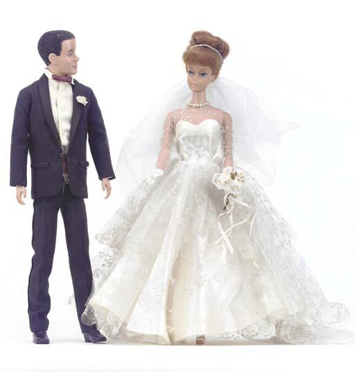 No.5 Barbie in 'Wedding Day Se