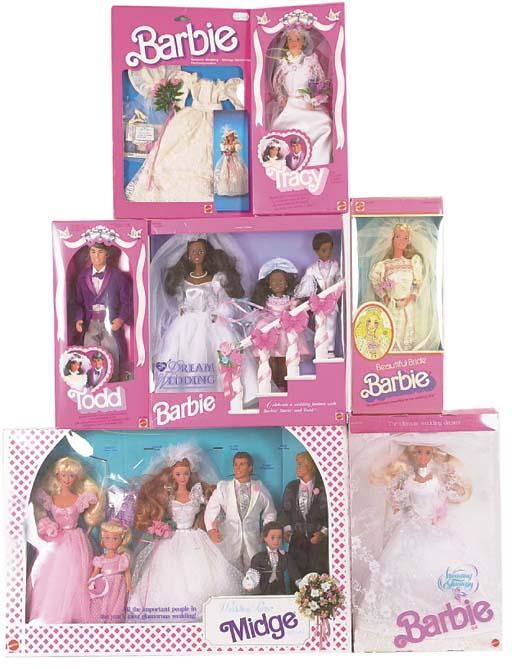 Bridal Barbie, 1980/90s