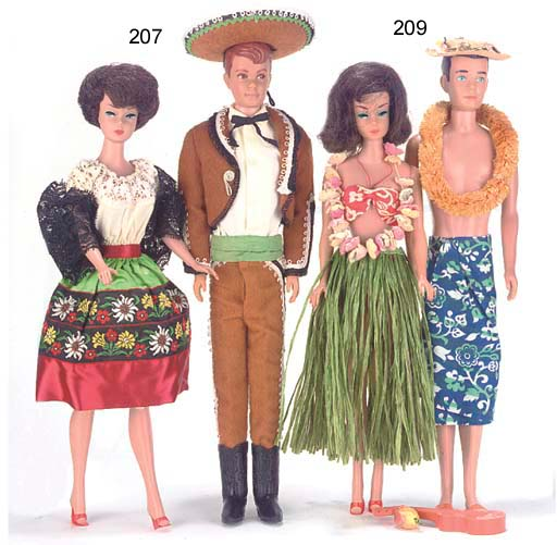 Barbie and Ken (Allan) in Mexi