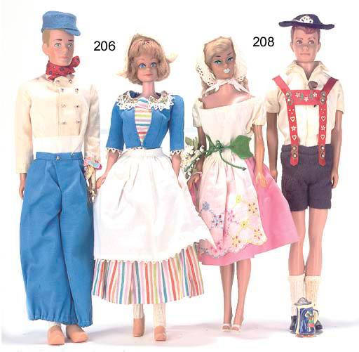 Barbie and Ken (Allan) in Swit