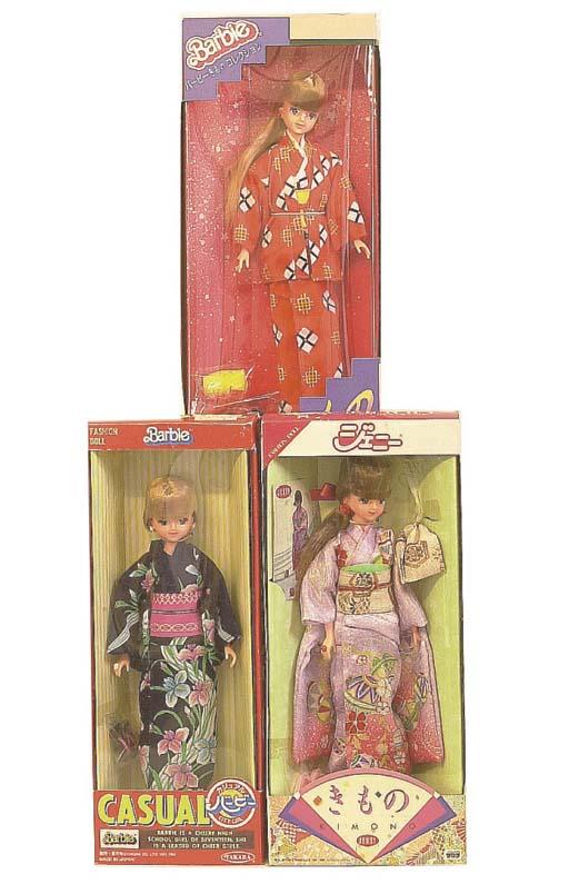 Takara Japanese market Barbies