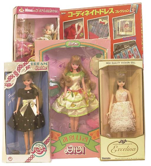 Japanese Market Takara Barbies